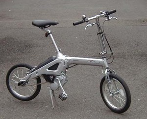 HONDAの電動自転車ステップコン...